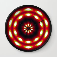 Supermoon Mandala Wall Clock