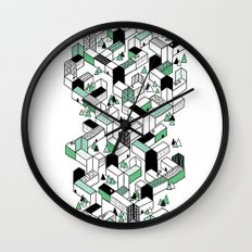 Home To A Few Wall Clock