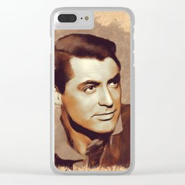 Cary Grant, Hollywood Legend Clear iPhone Case