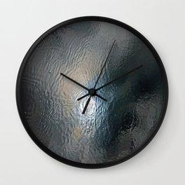 Frozen Sky Wall Clock