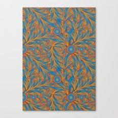 psychedelic Art Nouveau  Canvas Print