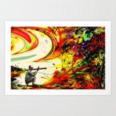 Bazooka Overload Art Print