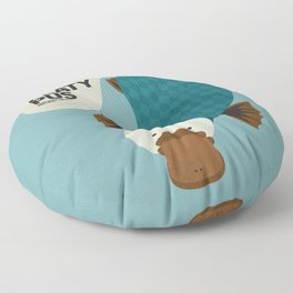 Hello Platypus Floor Pillow