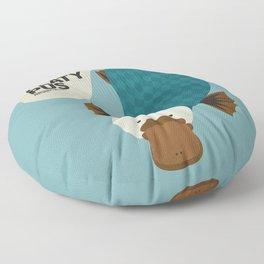 Hello Platypus Floor Pillow