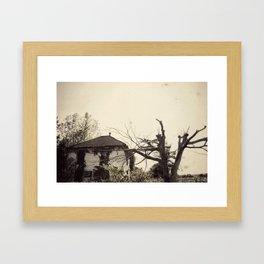 The Lakewood Family Home Framed Art Print