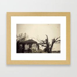 The Lakewood Family Home Framed Art Print