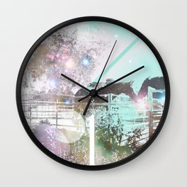horse peck Wall Clock