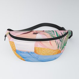 Bohemian Pink Room Fanny Pack