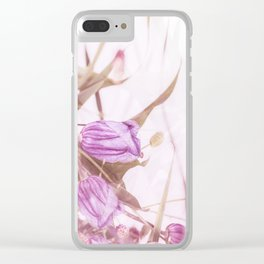Autumn Bouquet In Purple Shades #society6 #buyart Clear iPhone Case