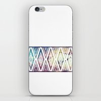 diamonds iPhone & iPod Skins featuring Diamonds by Last Call