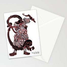 Chinese zodiac sign, Year of the Rat Stationery Cards