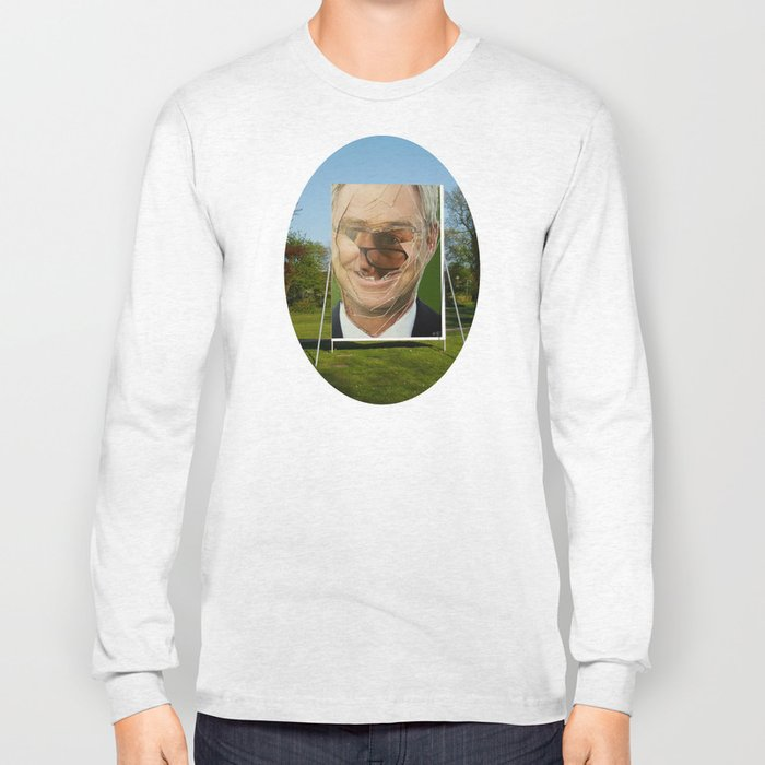 Zombie Poster Collage 4 - the gardener 4c Long Sleeve T-shirt