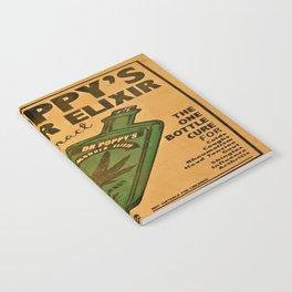 Vintage poster - Dr. Poppy's Wonder Elixir Notebook