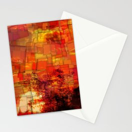 Sunrise in Africa Stationery Cards