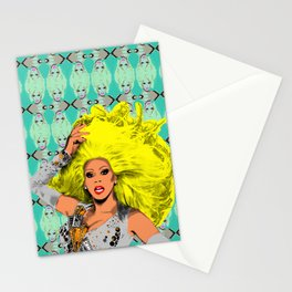 """TV Queens - Drag Race """"RuPaul"""" Stationery Cards"""
