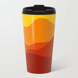 Mountains at Sunset  #society6 #decor #buyart #artprint Travel Mug