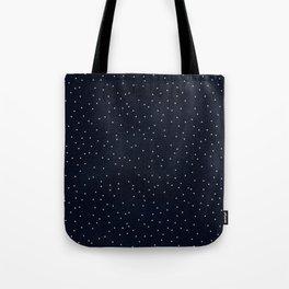 Beautiful Dark Dots Tote Bag