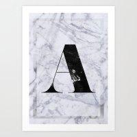 .A Art Print