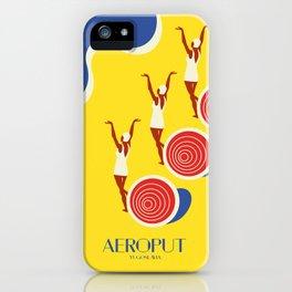 """EX-JU poster """"AEROPUT"""" iPhone Case"""