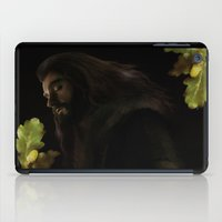 thorin iPad Cases featuring Thorin by LindaMarieAnson