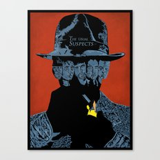 The Usual suspects Canvas Print