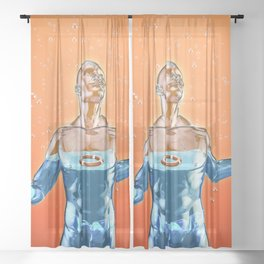 Fulfilled Sheer Curtain