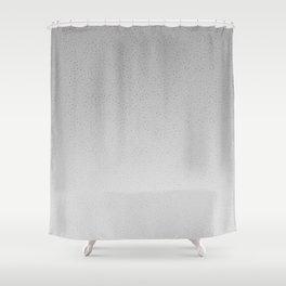 Concrete Dot Gradient Shower Curtain