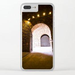 Dark Room Clear iPhone Case
