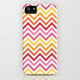 Rainbow Chevron #1 iPhone Case