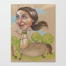 HAPPY CENTAUR Canvas Print