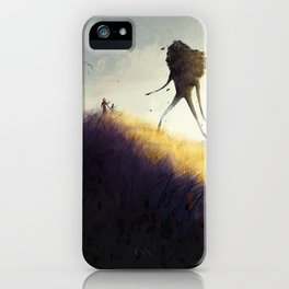 The Earth Giants iPhone Case