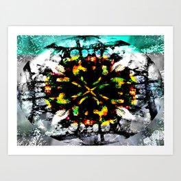 Diffraction Art Print