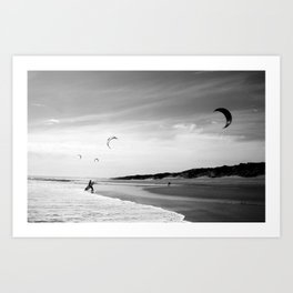 """""""OZ LAND"""" kitesurf . kite . surf Art Print"""