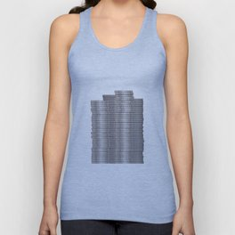 Pieces of Silver Unisex Tank Top