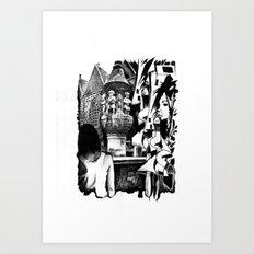 Fontain Art Print