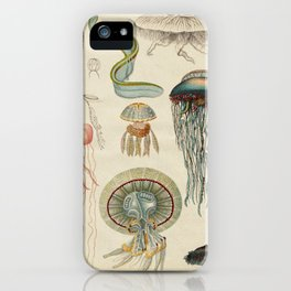 Jellyfishes from the Deep Sea iPhone Case
