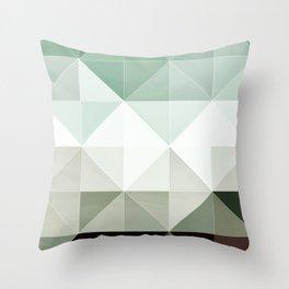 Apex geometric II Throw Pillow