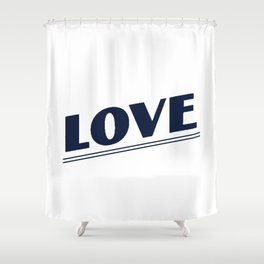 Young And In Love #1 Shower Curtain