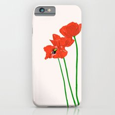 Lovely Poppies iPhone 6s Slim Case