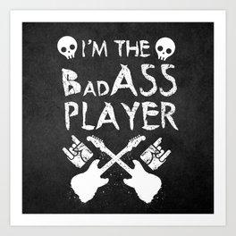 BadASS Player Art Print