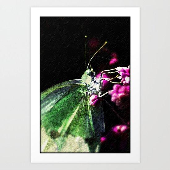 Butterfly queen Art Print