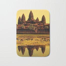 Ankor Wat Bath Mat