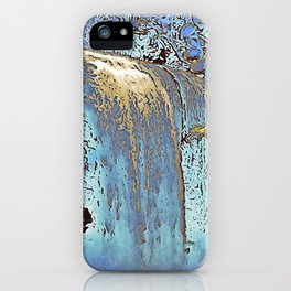 "series waterfall ""Cachoeira Grande"" III iPhone Case"