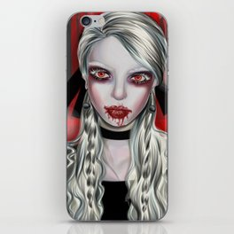 Vampire Portrait iPhone Skin