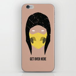 Get Over Here iPhone Skin