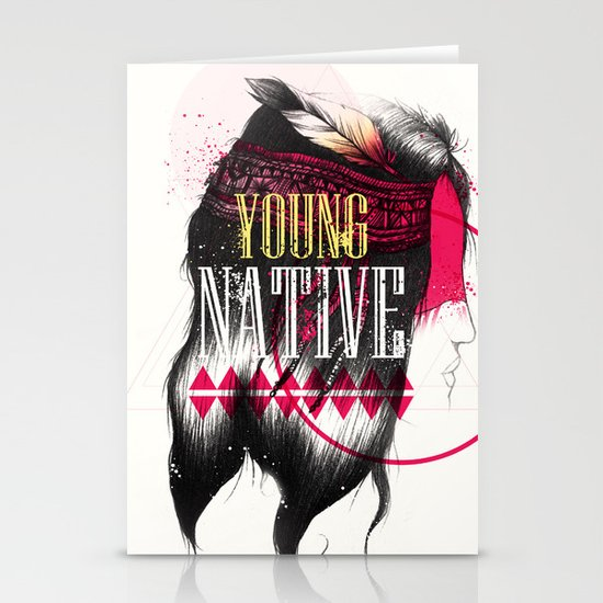 Young Native Stationery Cards