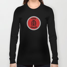 Stay Hungry - Medallion Long Sleeve T-shirt