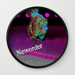 Technique Inspired Wall Clock