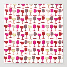 Wine Down Canvas Print