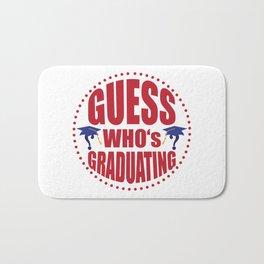 Gues$ who's graduating Bath Mat